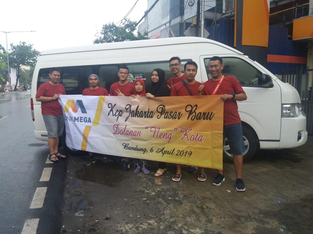 Sewa Hiace - Rombongan Karyawan Bank Mega KCP Jakarta Pasar Baru