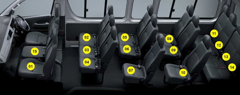 Sewa Hiace 14 Seats Agra Car Rental